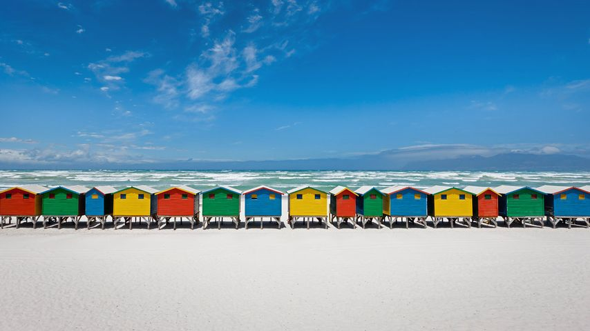 「ビーチ小屋」南アフリカ, ミューゼンバーグ