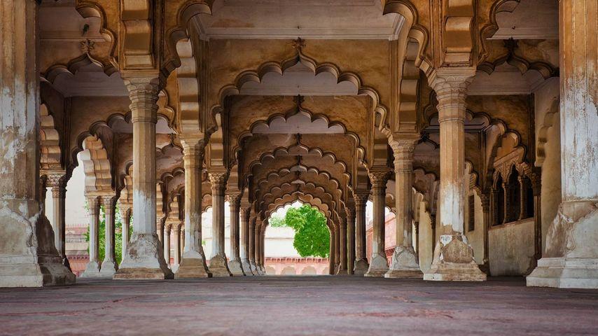 「アーグラ城塞」インド, ウッタル・プラデーシュ州