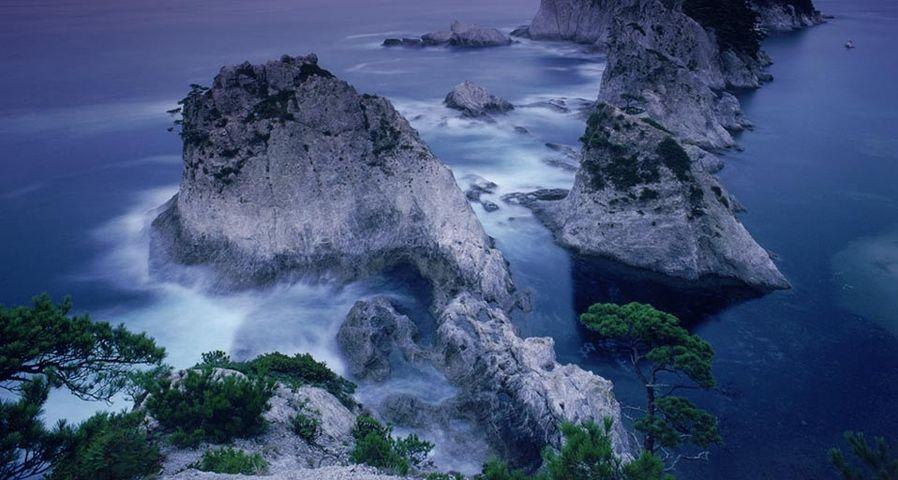 「浄土ヶ浜」岩手, 陸中海岸国立公園