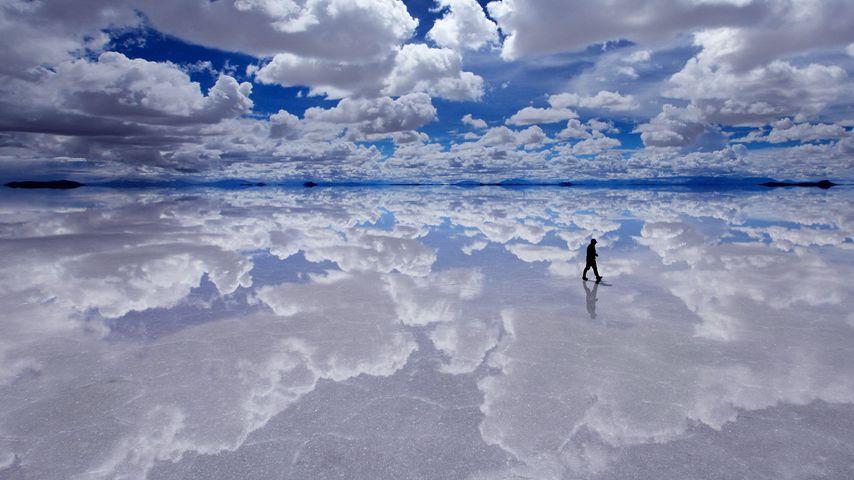 「ウユニ塩湖」ボリビア