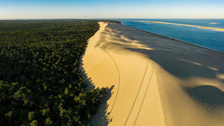 「アルカション湾のピラ砂丘」フランス (© aluxum/iStock/Getty Images Plus)