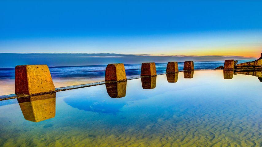 「クージー・ビーチ」オーストラリア, シドニー