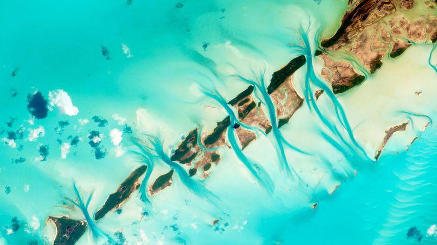 「グレート ・エグズーマ島」国際宇宙ステーション