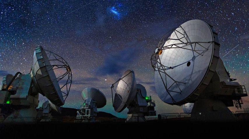 「アルマ望遠鏡」チリ, アタカマ砂漠