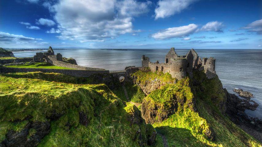 「ダンルース城」イギリス, 北アイルランド