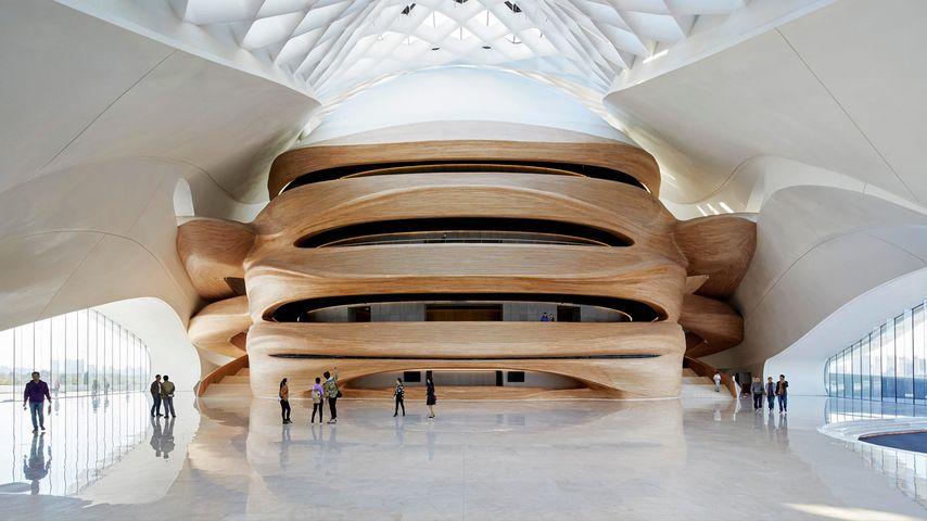 「ハルビン・オペラハウス」中国,黒竜江省