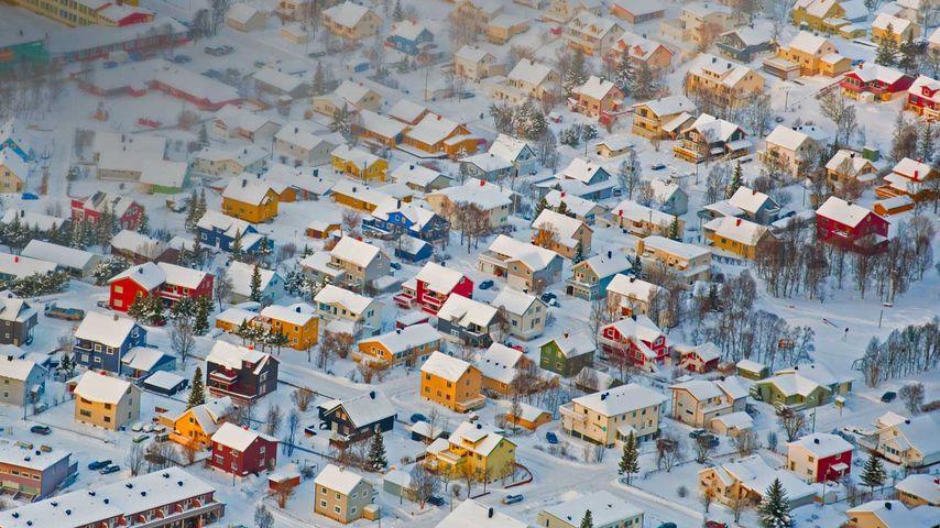 「トロムソの街並み」ノルウェー