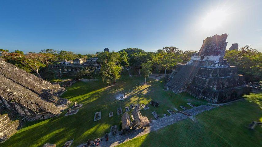 「ティカル遺跡」グアテマラ