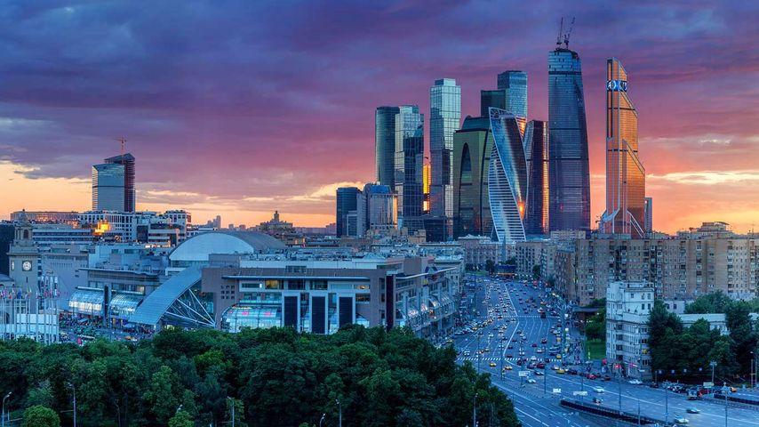 「モスクワ・シティ」ロシア, モスクワ