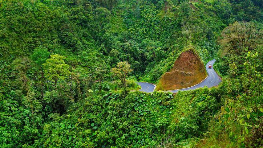 「アレナル火山自然公園」コスタリカ
