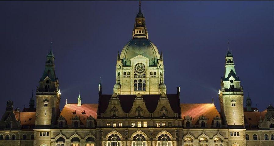「新市庁舎」ドイツ, ハノーファー