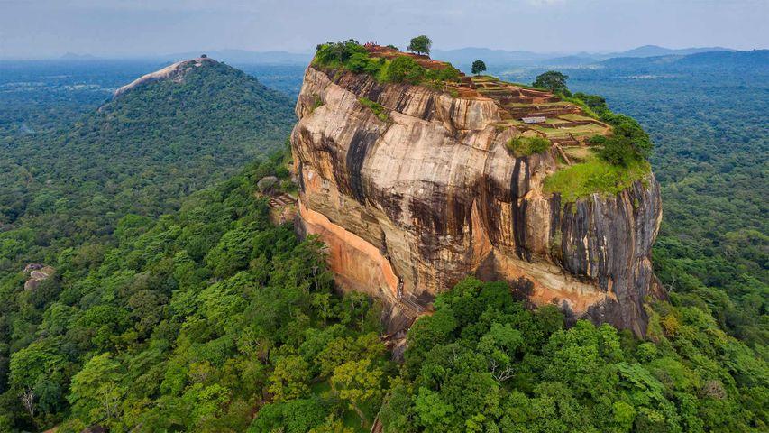 「シーギリヤ」スリランカ, 中部州