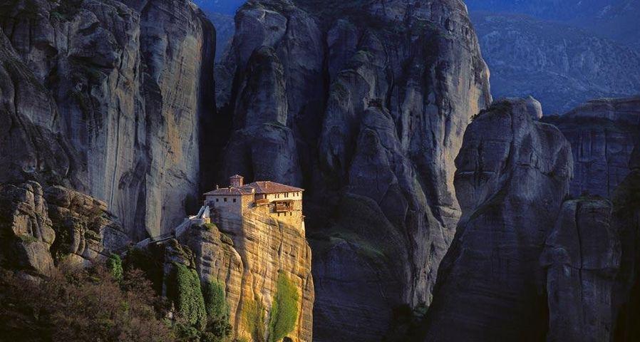 「ルサヌー修道院」ギリシャ, テッサリア