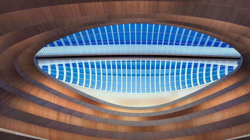 「チューリッヒ大学図書館」スイス, チューリッヒ