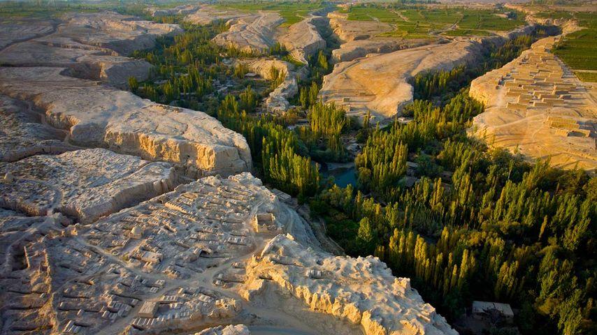 「トルファン盆地とアスターナ古墓群」中国, 新疆ウイグル自治区