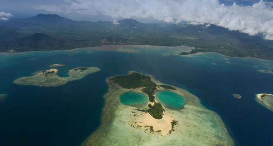 「サンゴの島」フィリピン, パラワン諸島, プエルト・プリンセサ