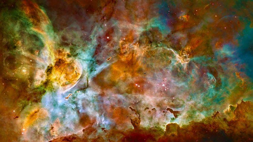 「イータカリーナ星雲」