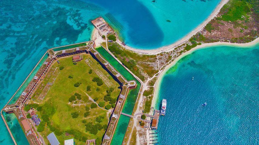 「ジェファーソン砦」アメリカ, フロリダ