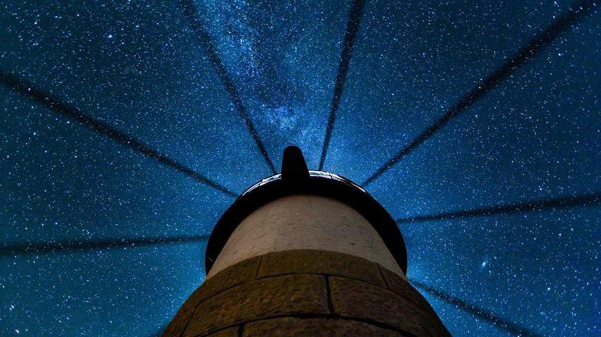 「マーシャルポイント灯台」アメリカ, メイン州