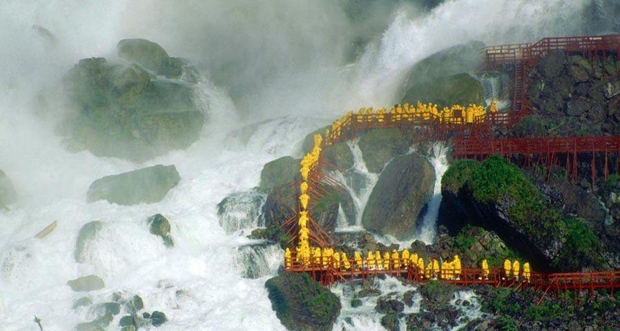 「ブライダルベール滝」アメリカ, ニューヨーク州