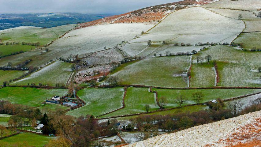「ポーイスの雪」イギリス, ウェールズ