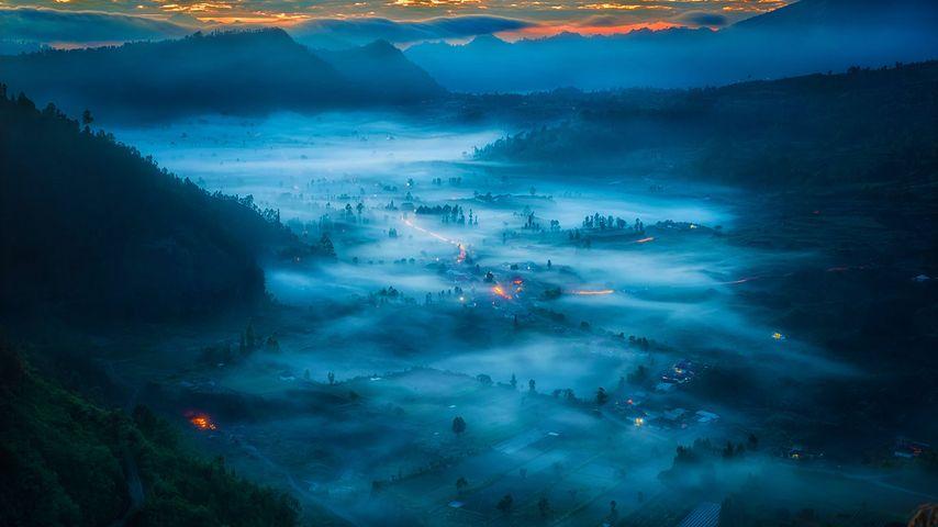 「キンタマーニ村」インドネシア, バリ