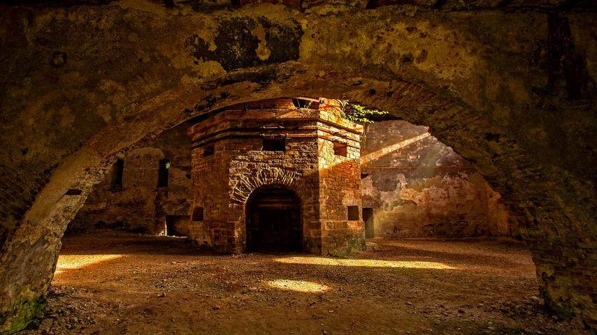「ゴバジュディア溶鉱炉」ルーマニア, トランシルヴァニア