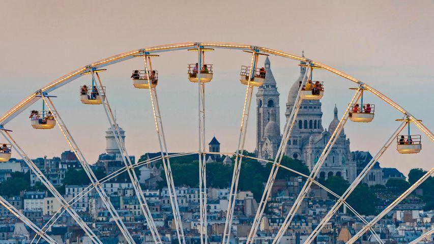 「テュイルリー公園の観覧車」フランス, パリ