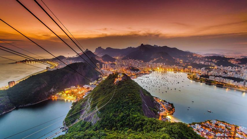 「ポン・ヂ・アスーカル」ブラジル, リオデジャネイロ