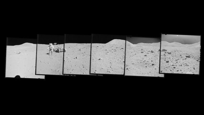 「アポロ15号の月面探査」