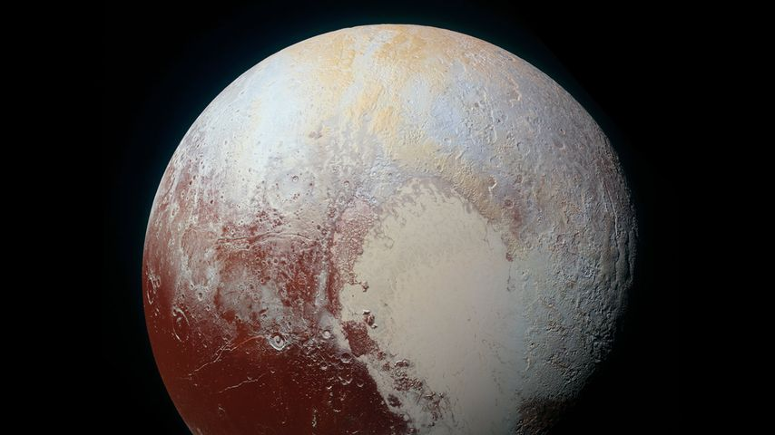 「冥王星の最新画像」NASA