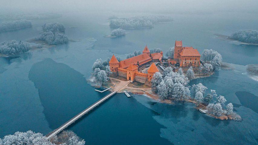 「トラカイ島城」リトアニア, トラカイ