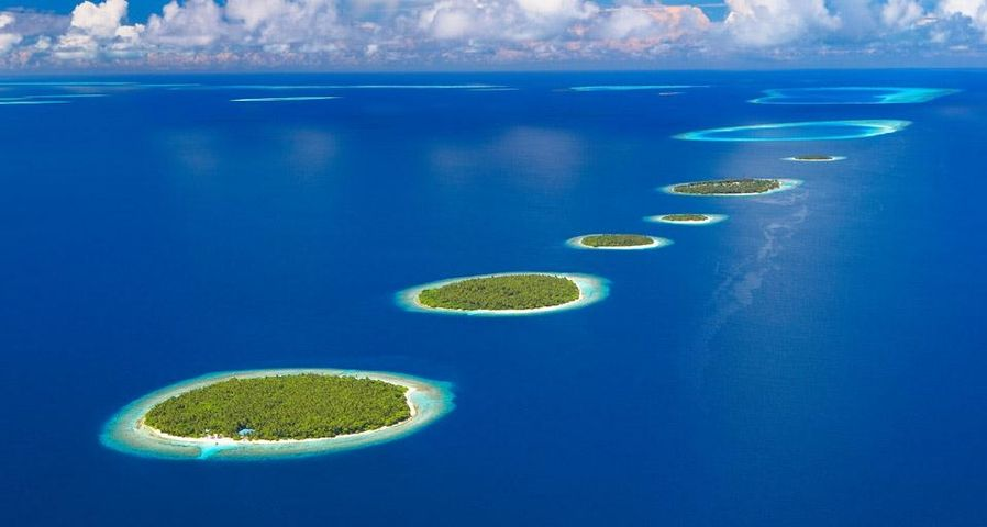 「バア環礁」モルディブ