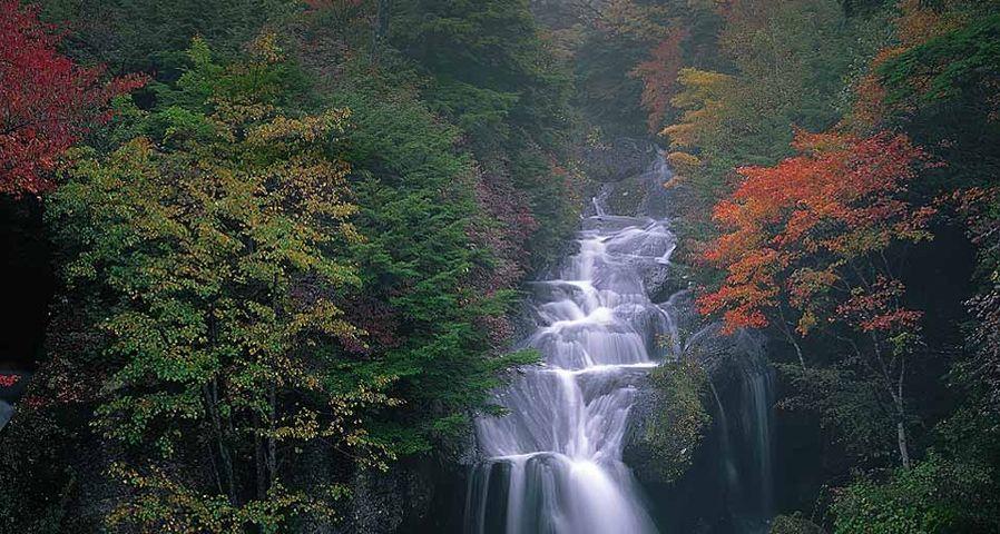 「竜頭の滝」栃木, 日光市