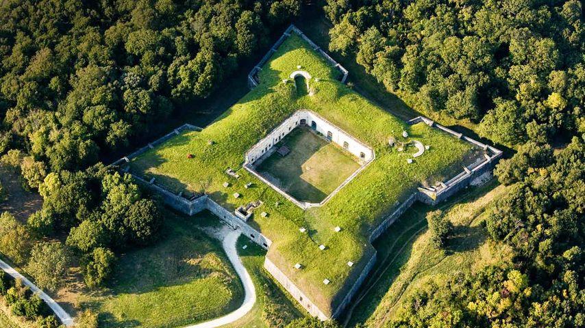「リエド要塞」フランス, エクス島