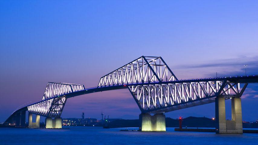 「東京ゲートブリッジ」東京, 東京港