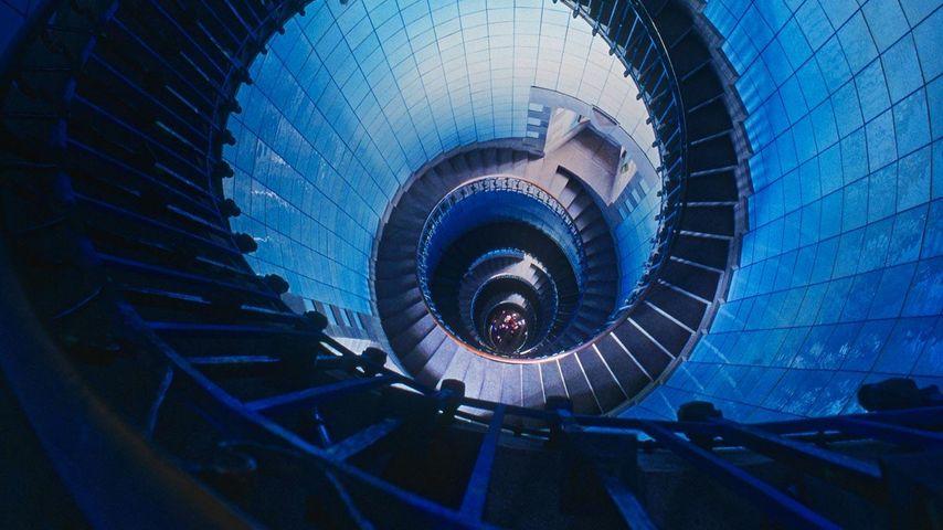 「イル・ヴィエルジュの灯台」フランス, ブルターニュ半島