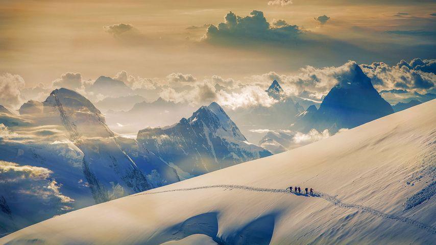 「ユングフラウ」スイス, ベルニーズアルプス