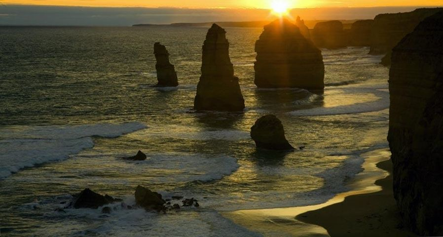 「十二使徒岩」オーストラリア, ビクトリア州