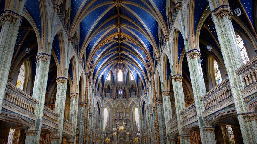 「ノートルダム聖堂」カナダ, オンタリオ州