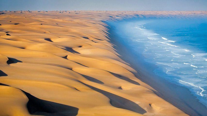 「ナミブ砂漠と大西洋」アフリカ, ナミビア
