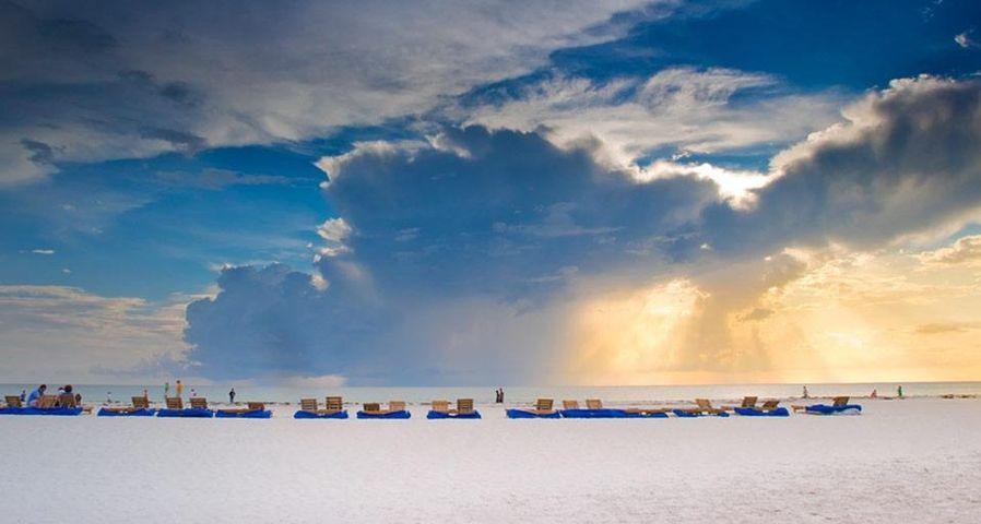 「セントピーターズバーグの海岸」アメリカ, フロリダ州