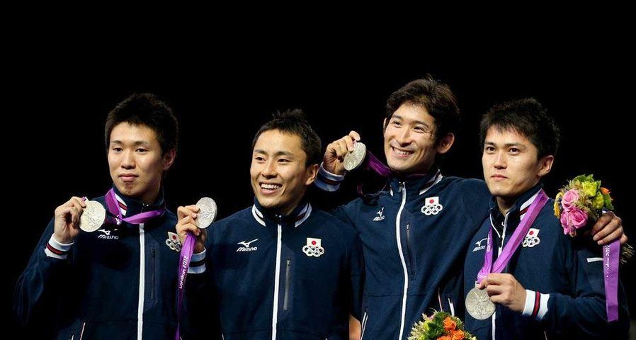 「フェンシング日本男子チーム」ロンドン五輪, フェンシング男子フルーレ団体決勝