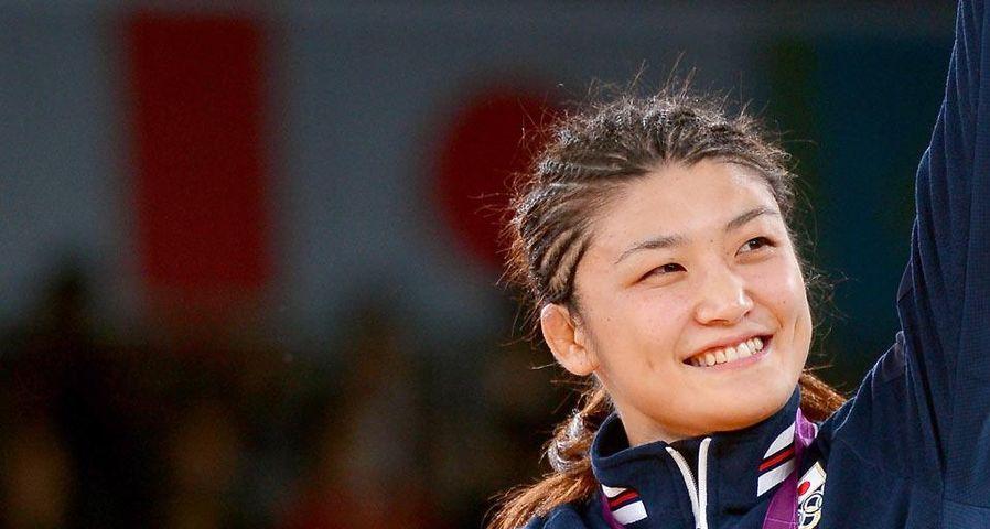 「伊調馨選手金メダル受賞」ロンドン五輪, レスリング女子63キロ級