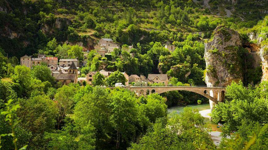 「タルヌ渓谷」フランス, ラングドック=ルシヨン地域圏