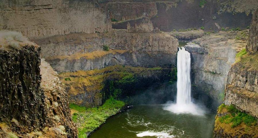「パルースフォールズ州立公園」アメリカ, ワシントン州