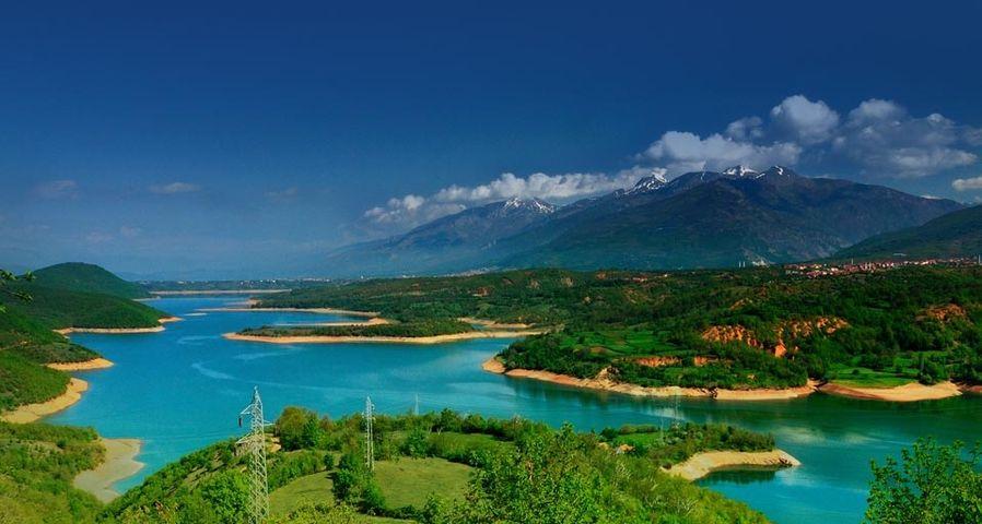 「デバルの人工湖」マケドニア, デバル