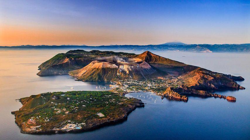 「ヴルカーノ島」イタリア, エオリア諸島