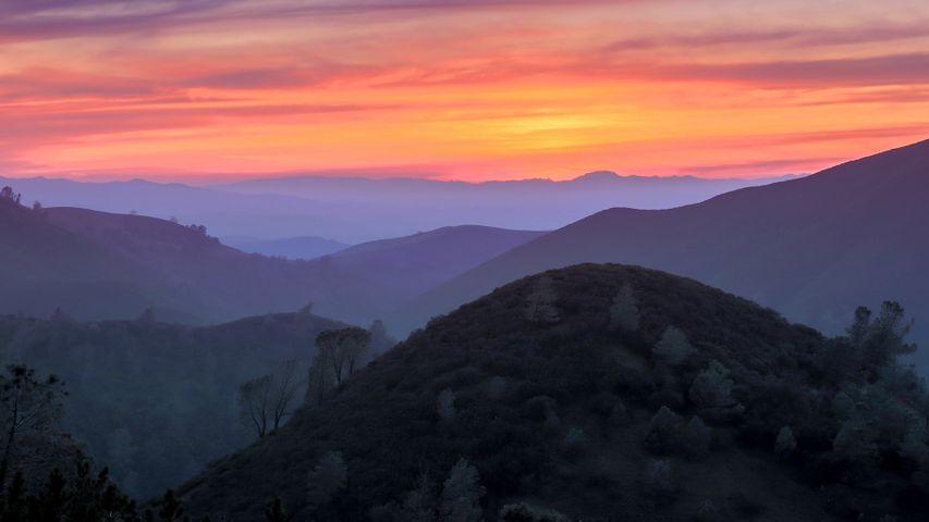 「ディアブロ山州立公園」米国カリフォルニア