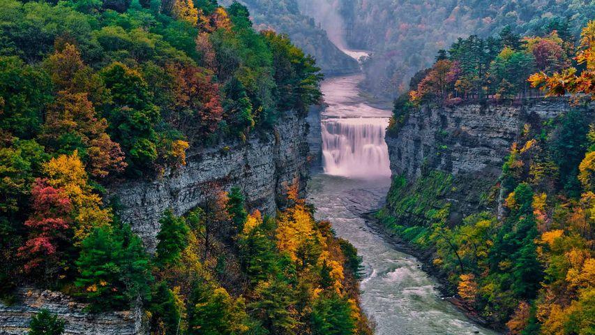 「レッチワース州立公園」米国ニューヨーク州